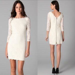 DVF Authentic Zarita lace dress